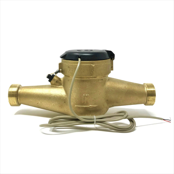 "1"" Bronze Multi-Jet Water Meter with Pulse Output"