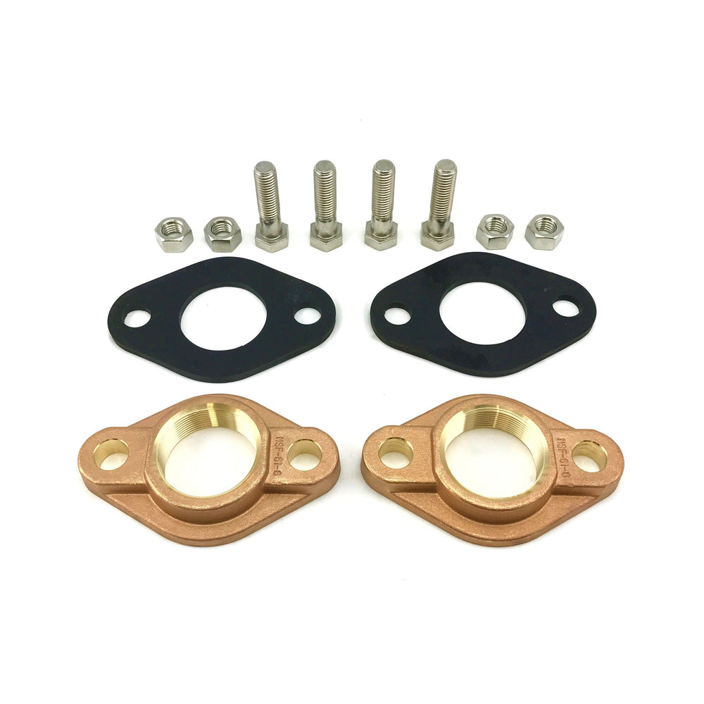 "MCS 2"" Water Meter Flange Kit"