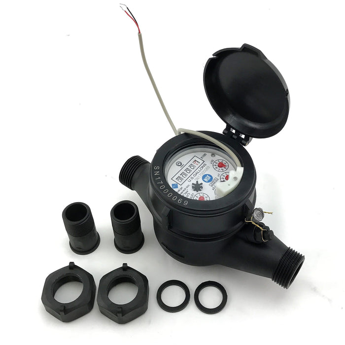 "3/4"" Water Meter with Pulse Output"