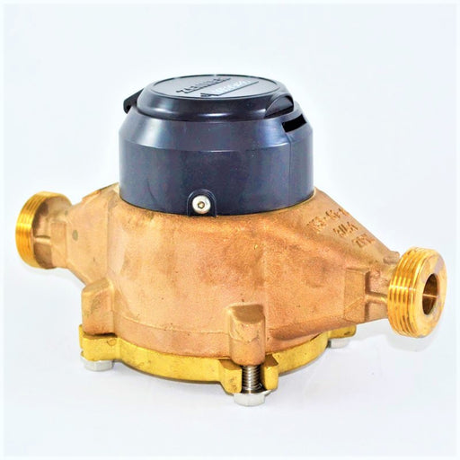 "Zenner: Positive Displacement Water Meter (Sizes 3/4"" to 2"")"