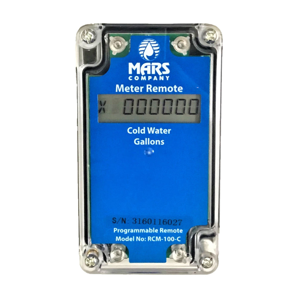Mars Company Remote Meter LCD Display
