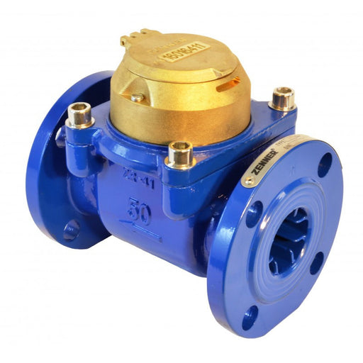 Zenner: Turbine Water Meter (Epoxy Coated Iron)
