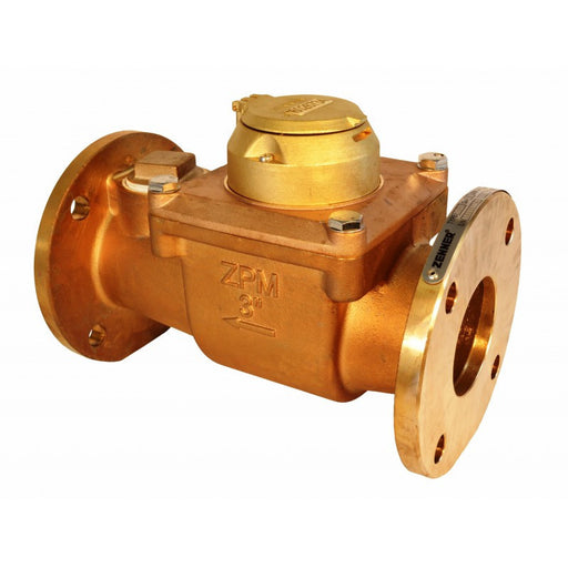 Zenner: Turbine Water Meter (Bronze)