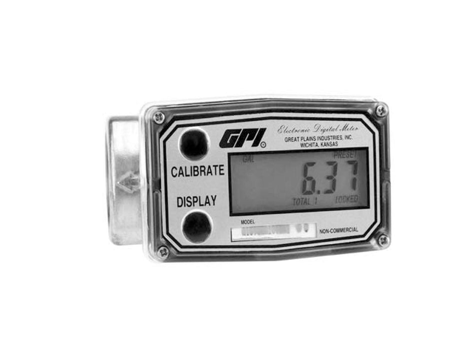 Industrial Meters,GPI Industrial Flow Meters - GPI: A1 Series, Aluminum