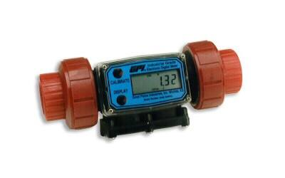 Industrial Meters,GPI Industrial Flow Meters - GPI: G2 Series, PVDF
