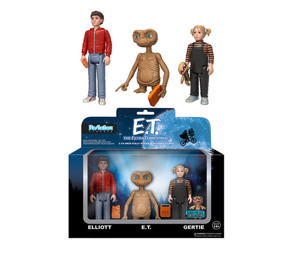 E.T. the Extra-Terrestrial 3-Pack