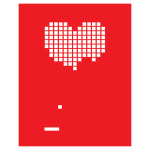 Heart Breakout (Red) Print