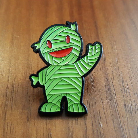 GID Mummy Boy Pin