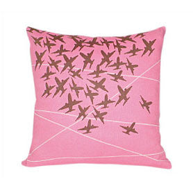 Air Traffic Control Pillow [Magenta]