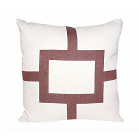 Square One Pillow [Mocha]
