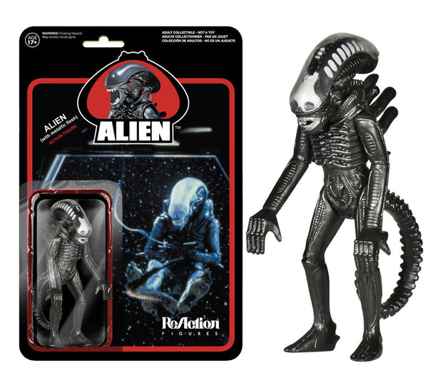 Alien - Metallic ReAction Figure