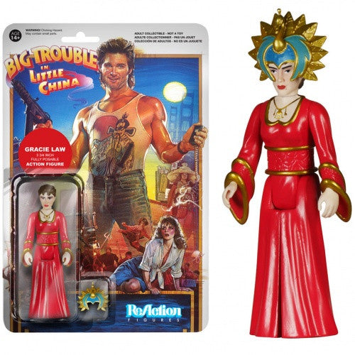 Big Trouble in Little China - Gracie Law ReAction Figure