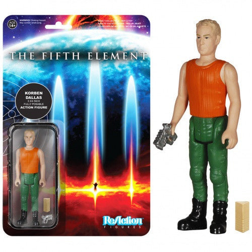 The Fifth Element - Korben Dallas ReAction Figure
