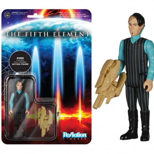 The Fifth Element - Zorg ReAction Figure