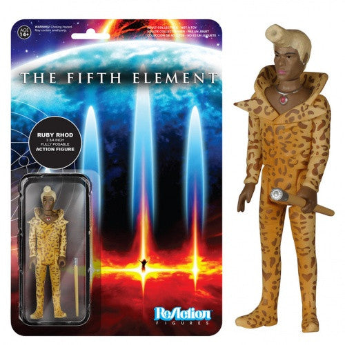 The Fifth Element - Ruby Rhod ReAction Figure