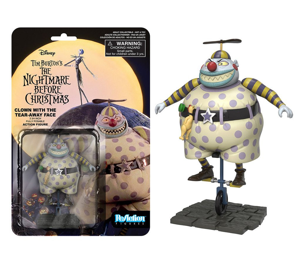 The Nightmare Before Christmas - Clown w/ Tear Away Face