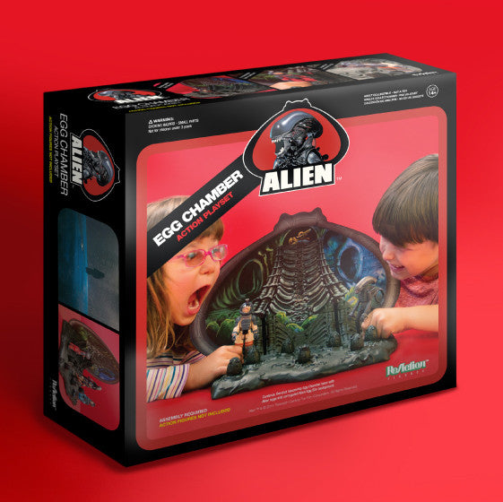 Alien - Egg Chamber Playset ReAction Figures