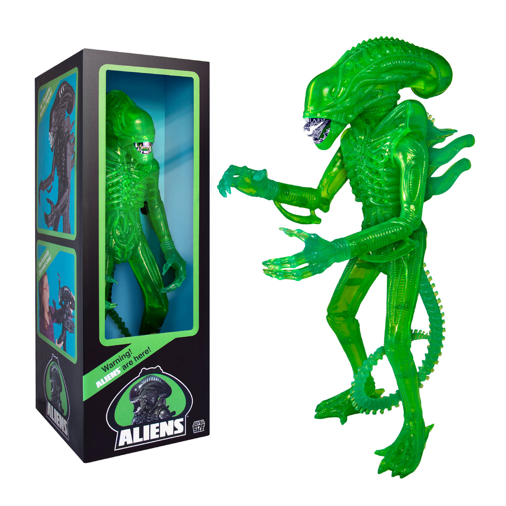 "Aliens Warrior 18"" Classic Toy Edition (1986) - Acid Green"