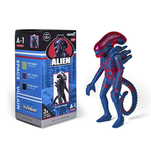 Alien Blind Box Xenomorph ReAction Figure