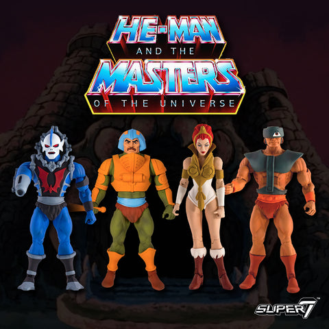 Masters of the Universe Classics Club Grayskull - Set of Four (Pre-Order)