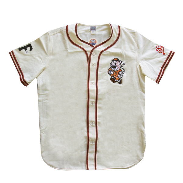 Baseball Boy Ebbets Field Jersey - Cream