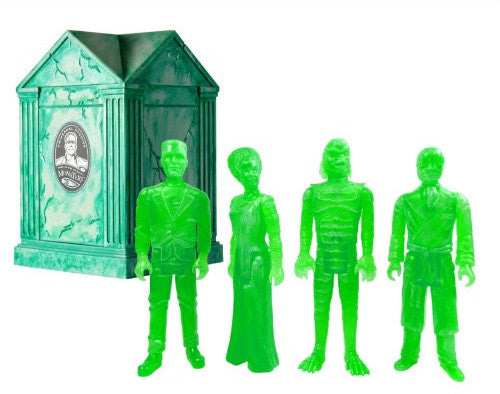 Universal Monsters Haunted Crypt - Clear Glow Green