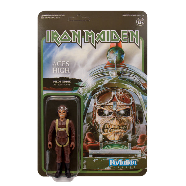 "Iron Maiden - Aces High 3.75"" ReAction Figure"