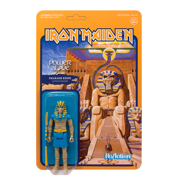 "Iron Maiden - Powerslave 3.75"" ReAction Figure"