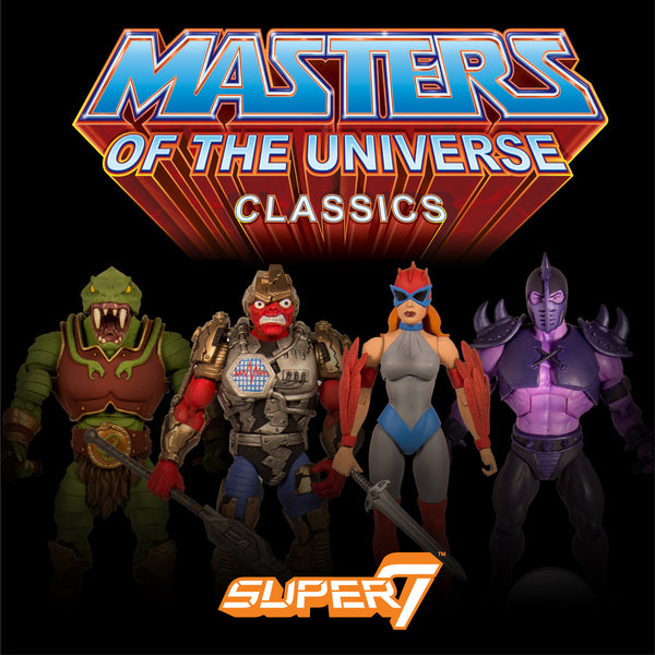 Masters of the Universe Classics Collector's Choice - Set of Four (Pre-Order)