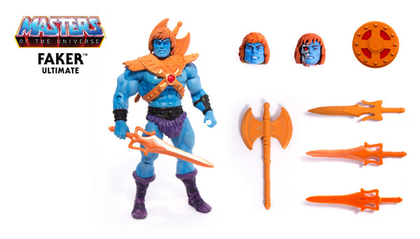 Masters of the Universe Ultimates Faker (Pre-Order)