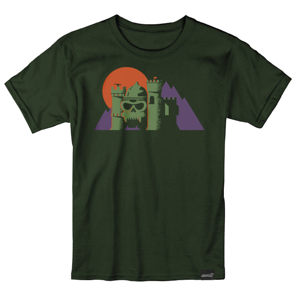 Geometric Grayskull T-Shirt