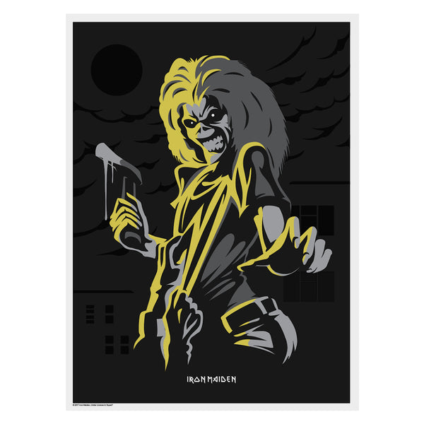 Iron Maiden - Killers Metallic Poster