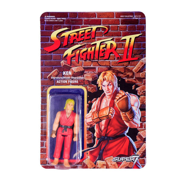 Street Fighter 2 - Ken Action Figure
