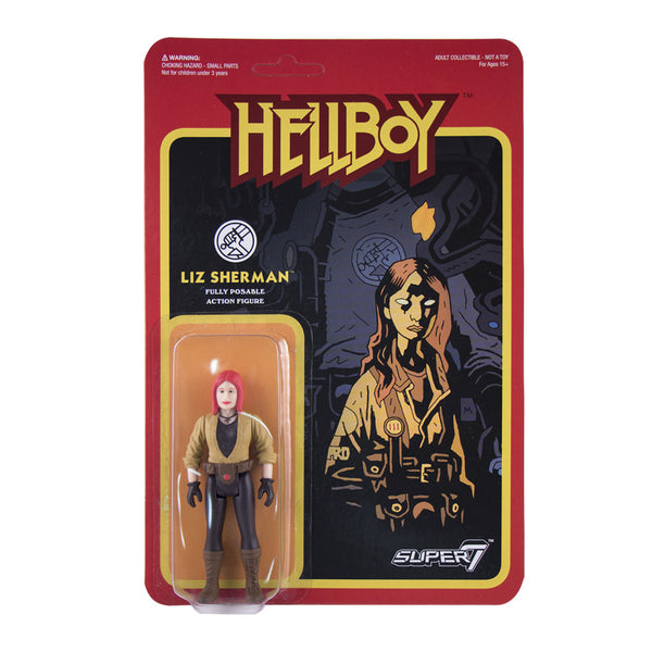 Hellboy - Liz Sherman ReAction Figure