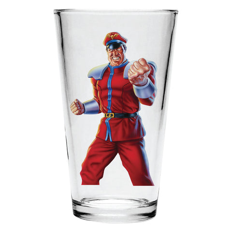 M. Bison Pint Glass