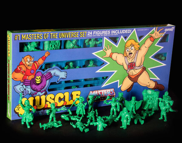 Masters of the Universe M.U.S.C.L.E. 24 Pack - Green