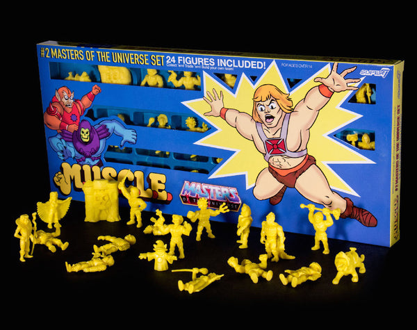 Masters of the Universe M.U.S.C.L.E. 24 Pack - Yellow