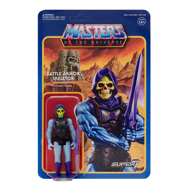 Masters of the Universe ReAction Figures Wave 3  - Battle Armor Skeletor