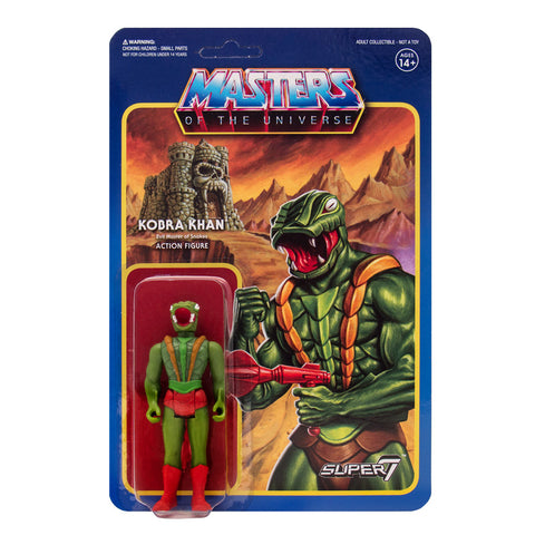 Masters of the Universe ReAction Figures Wave 3  - Kobra Khan