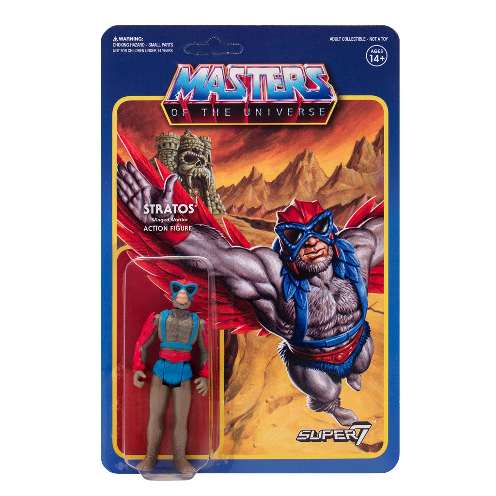 Masters of the Universe ReAction Figures Wave 3  - Stratos