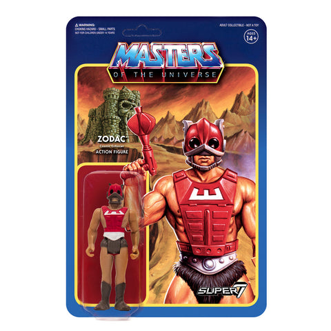 Masters of the Universe ReAction Figures Wave 3  - Zodac