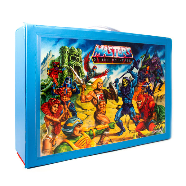 Masters of the Universe ReAction Carrying Case with Mini-Comic Mer-Man