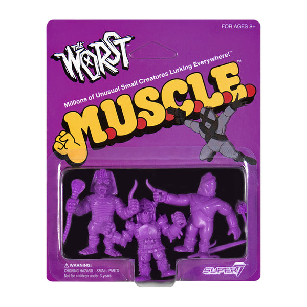 The Worst MUSCLE Purple - Pack A