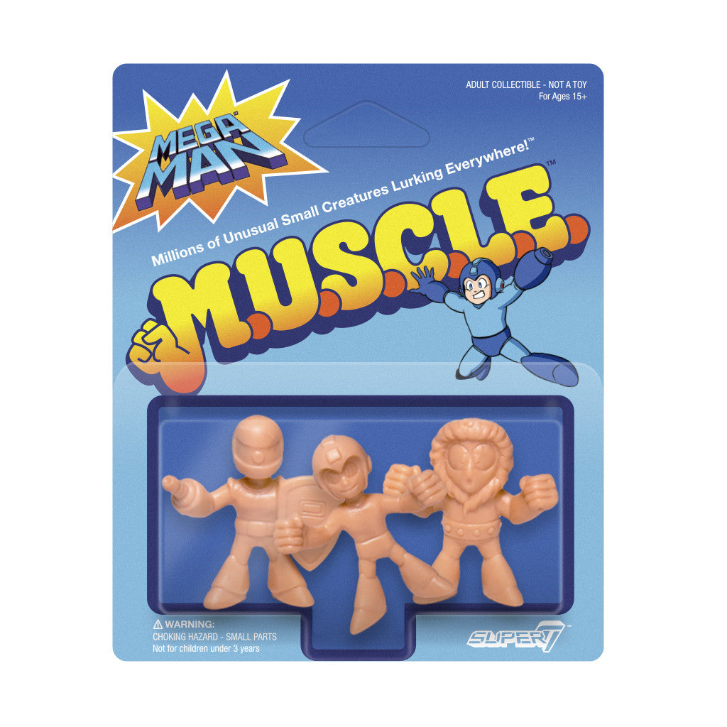 Mega Man MUSCLE Wave 1 - Pack A