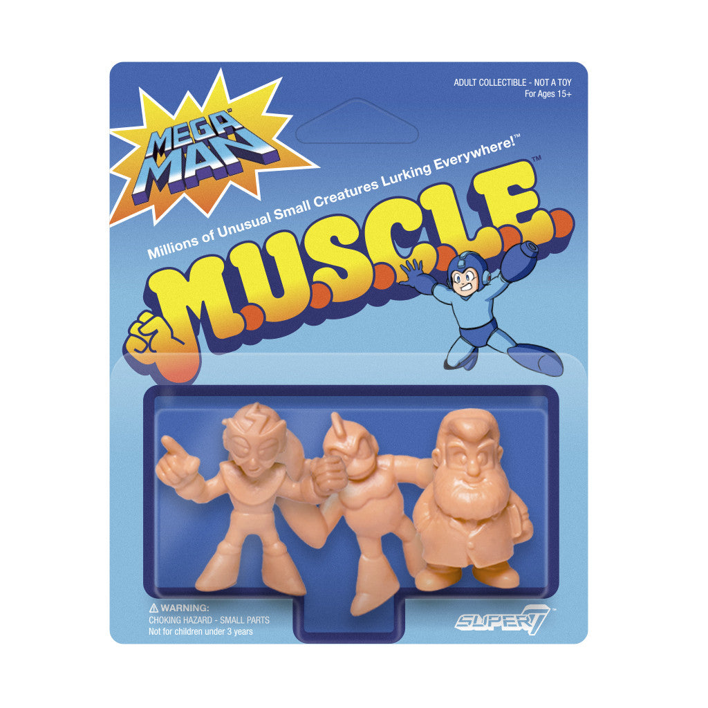 Mega Man MUSCLE Wave 1 - Pack D