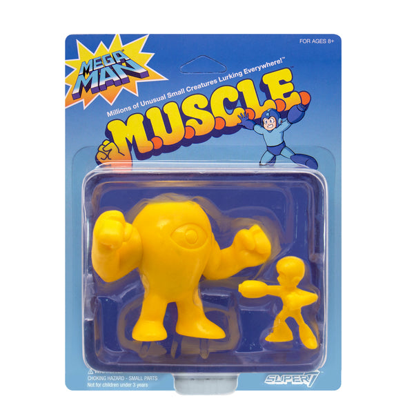 Mega Man MUSCLE Yellow - 2-Pack