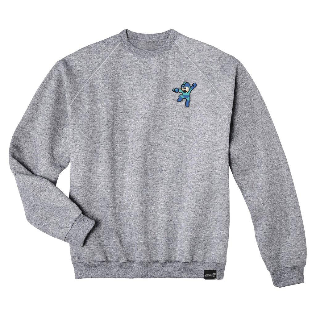 Mega Man Embroidered Crewneck