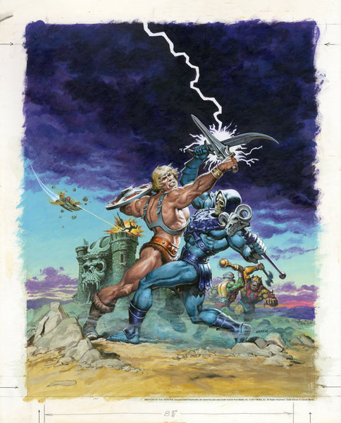 Masters of the Universe - Earl Norem The Sunbird Legacy Print