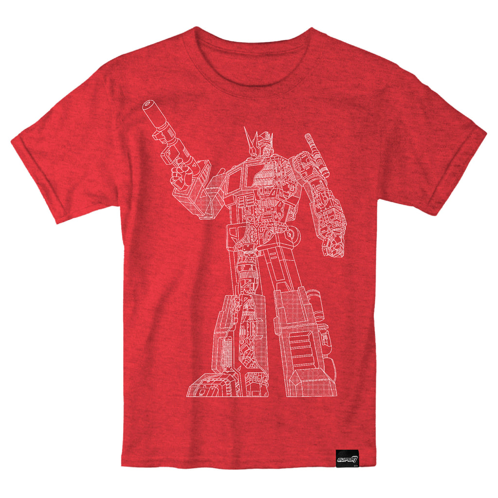 Transformers - Optimus Prime Cut Away T-Shirt