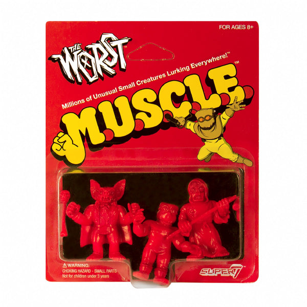 The Worst MUSCLE Red - Pack A